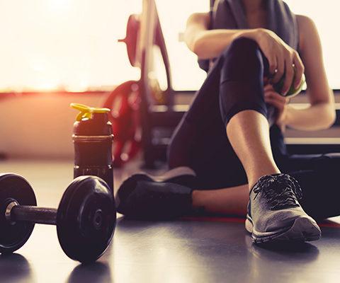 Espace fitness à la maison